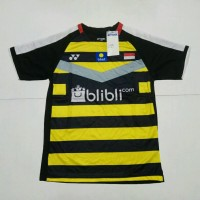 BAJU BADMINTON / BULUTANGKIS Yonex Y.139 (Black Yellow BliBli)