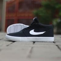 Sepatu Original BNWB- Sepatu Nike SB Portmore Mid Solarsoft Black