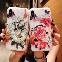 Case Samsung Galaxy J2 J5 J7 Prime J2 Pro J4 J6 2018 3D Peony Souvenir