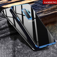 Case Samsung Galaxy J5 J7 Pro A6 A8 Plus 2018 Plating Clear Cover A6