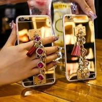 Case Cermin Ring Holder DIY untuk oppo a37 a83 f1s F5 F7
