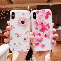 Case Samsung Galaxy J2 J5 J7 Prime J2 Pro J4 J6 2018 Pink Flower