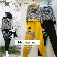 Long Dress Mechan Set Cewek