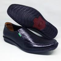 Sepatu pria kantoran pantofel fantofel fantovel kulit asli sol flat