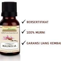 Happy Green Magnolia Essential Oil (10 ml) -100% Minyak Bunga Magnolia