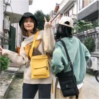 sling bag tas selempang pocket tas hp tas kanvas