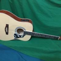 Gitar akustik elektrik bolet jumbo