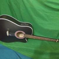 Gitar akustik elektrik ajib