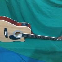 Gitar akustik elektrik 3/4 kinglion