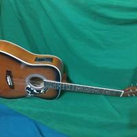 Gitar akustik elektrik subers