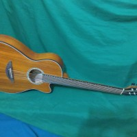 Gitar akustik Cowboy slim gurih