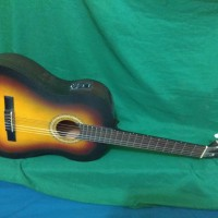Gitar akustik elektrik nilon tuner