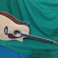 Gitar akustik elektrik lcd tuner pren