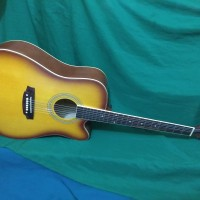 Gitar akustik jumbo groper