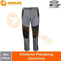Celana Panjang Rigi Journey Lapangan Gunung Hiking Outdoor Abu-abu