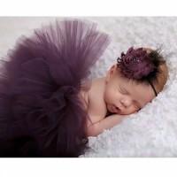 Rok Tutu & Bandana properti fotografi bayi