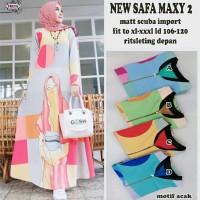 New safa maxy 2. Dress cantik bestseller. Dress maxy by Freya