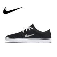 Asli Asli Nike SB Portmore Pria Bernapas Skateboard Sepatu Olahraga