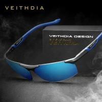 kacamata polarized Hitam pria polaroid sunglass veithdia