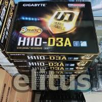 Spesial Gigabyte H110 D3A Bitcoin Mining LGA 1151 Mining Motherboard
