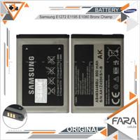 Baterai Samsung E1272 Ori 100% E1195 E1080 Bronx Champ Batre Battery