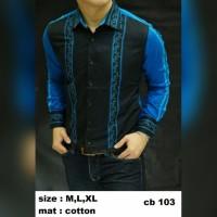 JEANS CELANA PRIA CELANA PREMIUM Baju Batik kemeja pria Slim fit CB1