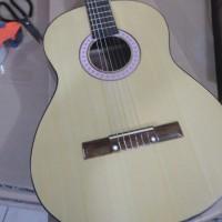 gitar klasik nilon 3/4 krem standar