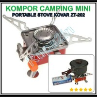 Kompor Portable Outdoor Camping Mini Kovar ZT-202