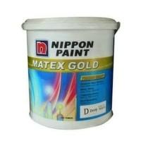 Nippon Paint Matex Gold Cat Tembok Interior (Putih) 2,5L