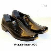 Sepatu Pantofel Kulit Asli Pria Murah