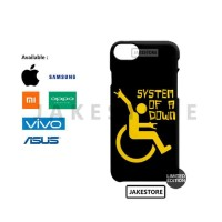 case redmi 5 Metal Janitor System Of A Down casing