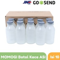 MOMOGI Botol ASI Kaca isi 10