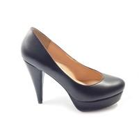 Workswell Sepatu Kerja Wanita High Heels 11cm Kode 2202 Hitam Doff