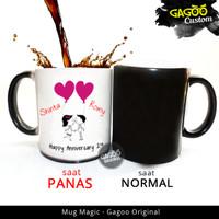 Kado ultah , Kado Unik | Mug Bunglon Magic - Our Love | Gagoo Original