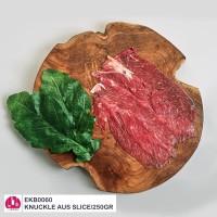 250gr Beef Knuckle Sliced Daging Sapi Kelapa Iris Yakiniku Bulgogi