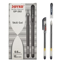 Pulpen Joyko Skill Gel GP-262 (12pc)