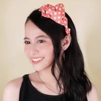 03553Er - Aksesoris Rambut - Bow Multicolour Headband