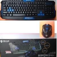 Keyboard + Mouse Wireless Rexus VR2