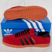 Sepatu ADIDAS HAMBURG RED BLACK Murah Jual Sepatu Murah Original