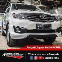 Bodykit Toyota Grand Fortuner 2014 TRD Plastik ABS Grade B