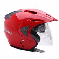 HELM KYT HELM RETRO IMPORT WTO Helmet Pro Sight Merah Promo Gratis Ja