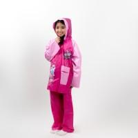 Jas hujan anak perempuan/ jas hujan setelan / jas hujan karakter -1404
