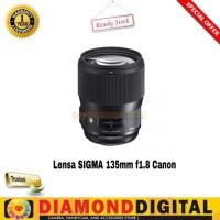 SIGMA 135mm f1.8 DG HSM Art Lens for CANON