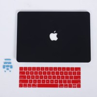 Bundling - Case Macbook Air Matte + Keyboard Protector + Dust Plug