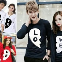 BAJU COUPLE BLACK LOVE LP