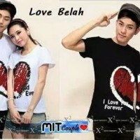 BAJU COUPLE LOVE BELAH