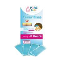 Pure Baby Kids Fever Free Cooling Patch Gel (Pereda Demam Kompres)