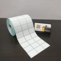 LABEL BARCODE 33 X 25 (3 LINE) KERTAS STICKER LABEL SEMICOATED 33x25