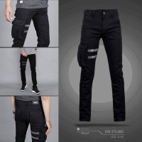 Cargo Ninja Pants Onstreet/Hitam/Murah/Japan Style/Slimfit/Unik