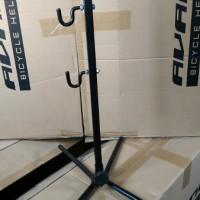 Standar sepeda model tiang pancing frame gantung
